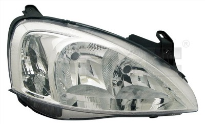 REFLEKTOR LAMPA TYC OPEL CORSA C