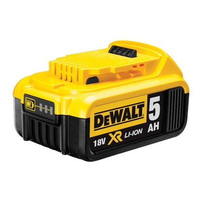DCB184 DEWALT 5Ah BATÉRIE 18 V LI-Ion