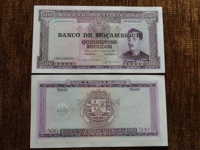 208.MOZAMBIK 500 ESCUDOS UNC