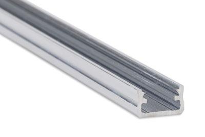 Алюминиевый профиль для ленты лента LED  2м серебро