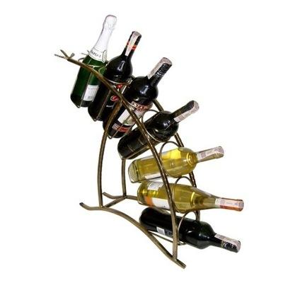 Стенд вино 7 БУТЫЛОК - МЕТАЛОПЛАСТИК -подарок