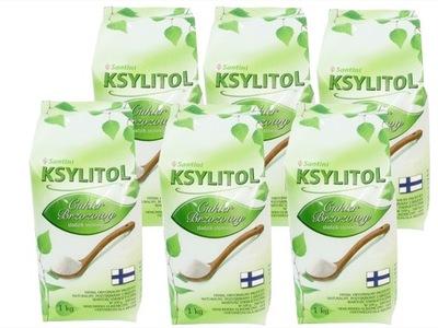 КСИЛИТ 6кг финский 100 % сахар березовый, эконом.