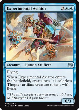 MTG 4x Experimental Aviator (Uncommon)