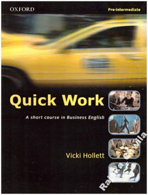 Quick Work Pre-Intermediate Student's Book NOWY SB