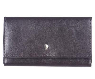7c1124fe89c3e Brązowy ażurowy portfel PRIMARK ATMOSPHERE 7044169850 - Allegro.pl