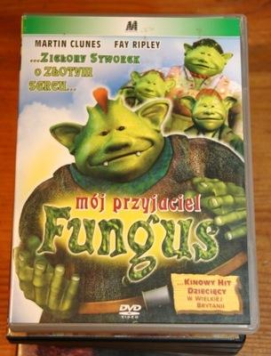 MÓJ PRZYJACIEL FUNGUS      DVD