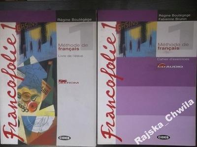 Francofolie 1 Podręcznik+CD+Ćwiczenia NOWE francus