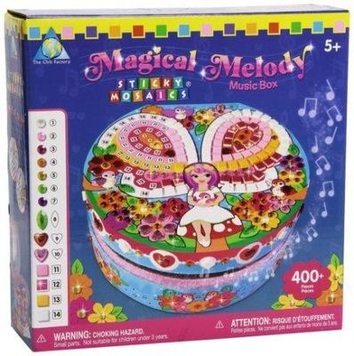 Box z hudby krabice Zdobí Mozaika 400 el