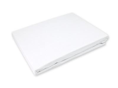 Podložka na matrac - Nieprzemakalne Prześcieradło 90x200 Jersey Białe