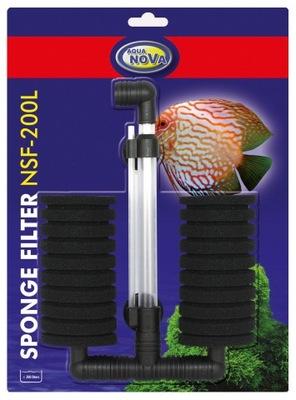 АКВА-НОВА фильтр губка NSF-200Л ??? аквариум 200Л