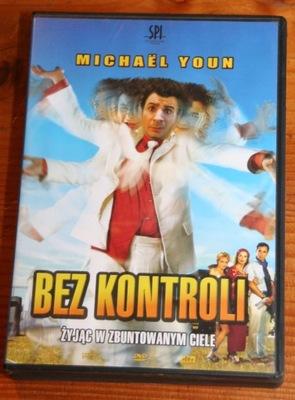 BEZ KONTROLI    DVD