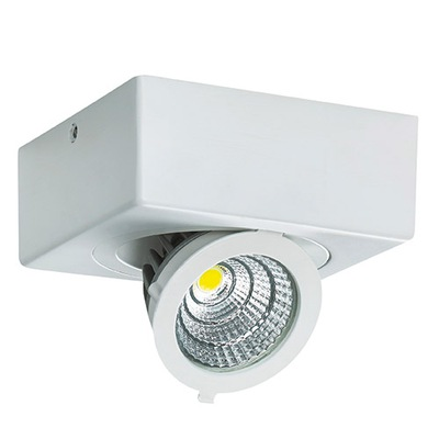 Bodové svetlá, bodové osvetlenie - Lampa sufitowa IGOR LED D 9W biała 4000K 03128