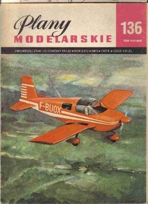 PM № 136 Самолет Туристско-спортивный GRUMMAN AME