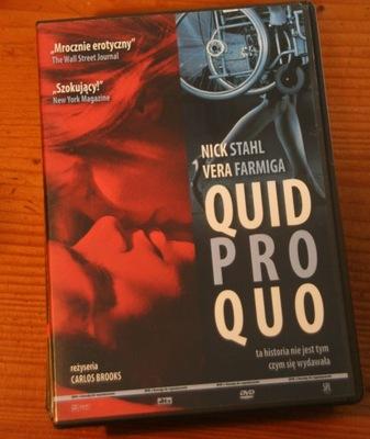 QUID PRO QUO    DVD