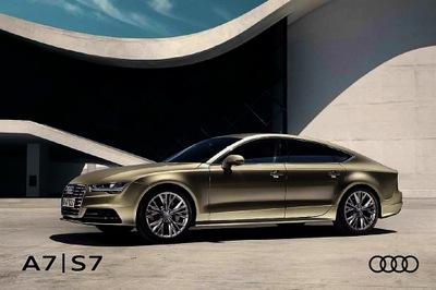 Audi A7 S7 prospekt 2016 polski 98 str