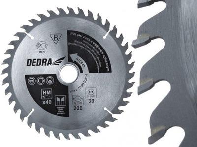 Rezací kotúč - DEDRA Kotúčová píla na karbid dreva 315x30 40z