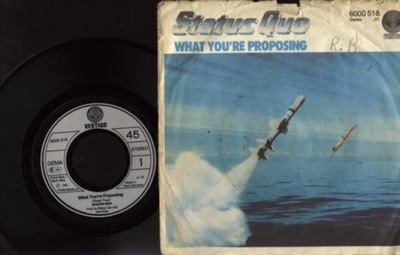STATUS QUO - WHAT YOU'RE PROPOSING - AB BLUES