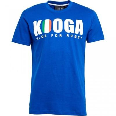 KooGa-rugby, koszulka męska t-shirt, ITALIA, S,3XL