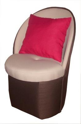 detská stolička čalúnená stolička s operadlom pufy12 farba+doprava zadarmo!
