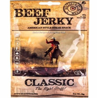 говядина СУШАТ !! BEEF JERKY CLASSIC 50 г для ПИВА