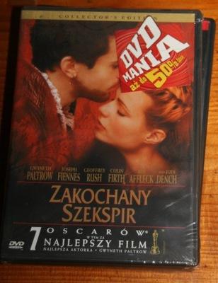 ZAKOCHANY SZEKSPIR      DVD
