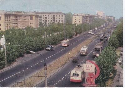 ТРОЛЛЕЙБУС - АВТОБУС - ЗИЛ - Россия - ГОРКИ