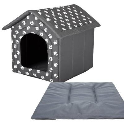буде + подушка , Домик для Собаки - R3: 52x46x53 см