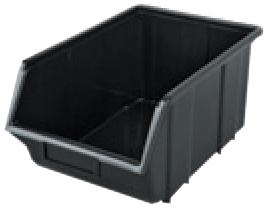 Контейнер 155x240x125 ECOBOX Средний -Черный