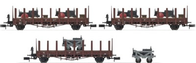 3 x платформа 2 чел. Ланц Транспорт DB ep. III, N