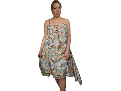 aeab206375 M S sukienka letnia midi turkus  1333  38 M - 5432960658 - oficjalne ...