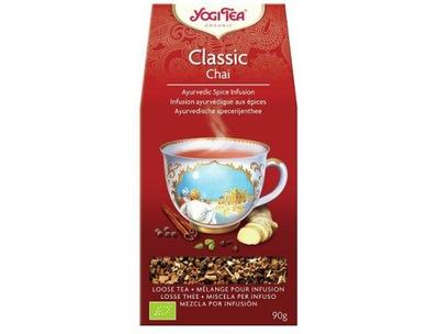 чай классическая (НАВАЛОМ) био 90г - YOGI TEA