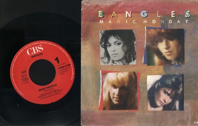 BANGLES - MANIC MONDAY - IN A DIFFERENT LIGHT