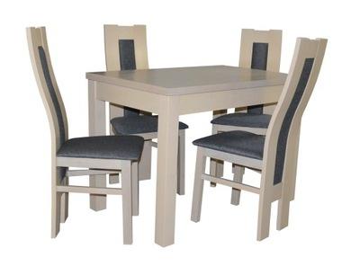 стол 80 /120/160 + стулья 4шт стол СО СТУЛЬЯМИ