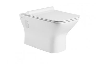 WC misa - NYKS ľahká rezanová miska s pomaly zavretou doskou SLIM