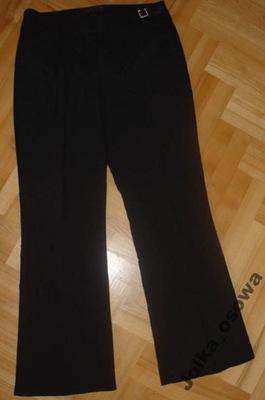 AGNES FLO eleganckie spodnie CYRKONIA w pasku 40