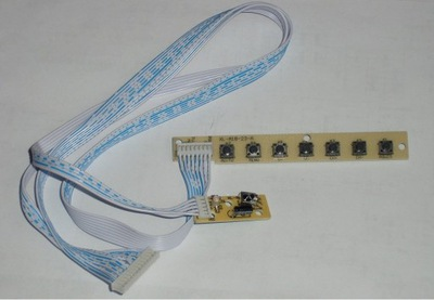 Klawiatura z IR do  kontrolerów V29,V59,V56,i DVB