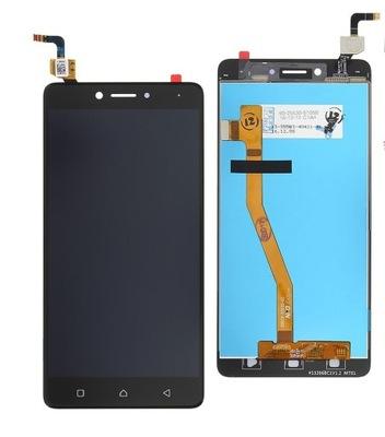 Lenovo K6 Note LCD + DIGITIZER czarny
