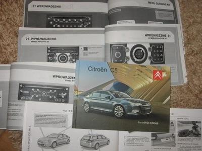 Citroen C5 instrukcja obsługi polska pełna 2008-11