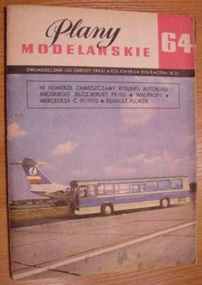 PM № Шестьдесят четыре Автобус Jelcz