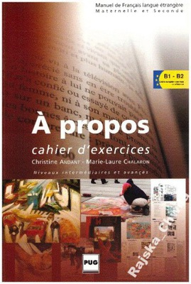 A propos Cahier d'exercices B1-B2 NOWA francuski