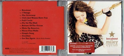 CD MILEY CYRUS -BREAKOUT