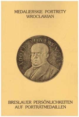 медали, medalierskie портреты wrocławian