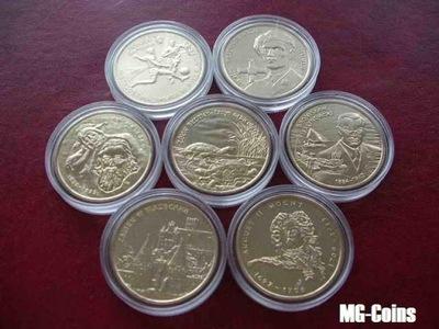 2  -2002 - комплект монеты 2002 года выпуска -  !