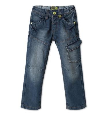 acf43e71bb9402 SPODNIE jeansowe chłopięce 104 / 110 dżinsy 4-5 l. - 7623002183 ...