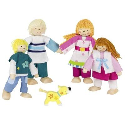 BÁBIKY doll HOUSE FAMILY GOKI 5 ÚDAJE