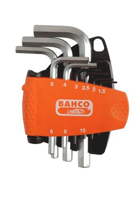 AMPULUS GAME klávesy 1,5 - 10 mm 9 kusov BAHCO