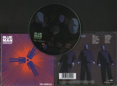 BLUE MAN GROUP - THE COMPLEX - CD
