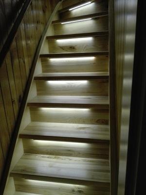 Odnawianie schodów nakładki dębowe 1m2