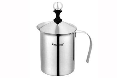 Kanvica na kávu - KING HOFF SPIENIACZ DO MLEKA 0,8 L UBIJAK