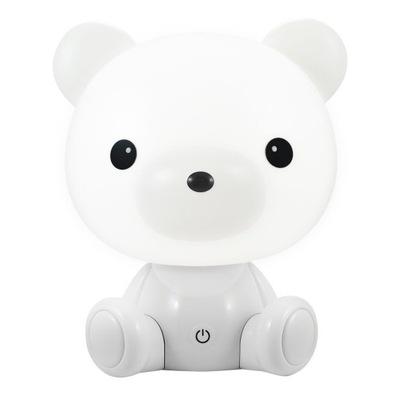 Svietidlá do detskej komora nočné SVETLO ŠKÔLKY, WHITE BEAR 2,5 W LED 3 REŽIM